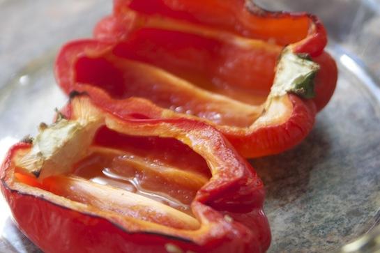 Corn & Quinoa Stuffed Peppers - Sophie Uliano