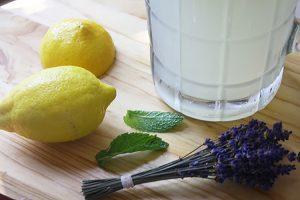 Lavender Mint & Basil Lemonade