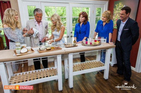 """Mark Steines and Cristina Ferrare welcome actress Marilu Henner, starring in """"Real Murders: An Aurora Teagarden Mystery"""" on Hallmark Movies & Mysteries. George Hamilton and Alana Stewart discuss their new reality show, 'Stewarts and Hamiltons."""" Chef Michael Fiorelli from LOVE & SALT cooks us a delicious dish: Rigatoni with Tuna Conserva! Shirley Bovshow is here with tips on growing and caring for Air Plants. Commemorate special life events with Paige Hemmis's DIY Announcement Holder. iPad Magician Simon Pierro blends magic and technology for an amazing performance. Keep your skin healthy with Sophie Uliano's Whipped Coconut Body Creams. If you are considering hospice care for a loved one, Jeanette Pavini has important information."""