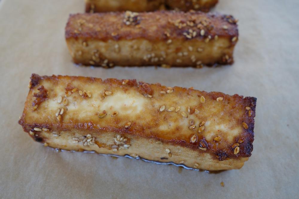 Thai Baked Tofu Sticks - Sophie Uliano