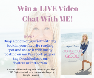 Win a Video Chat with Me