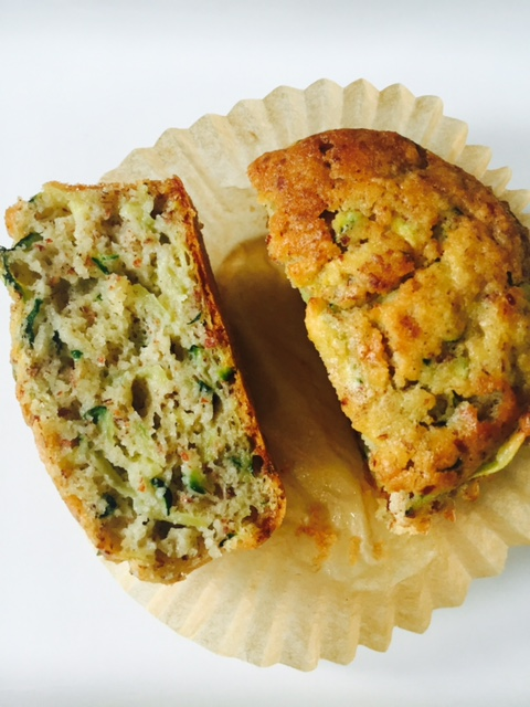 spiced zucchini muffins these spiced zucchini muffins were made at the ...