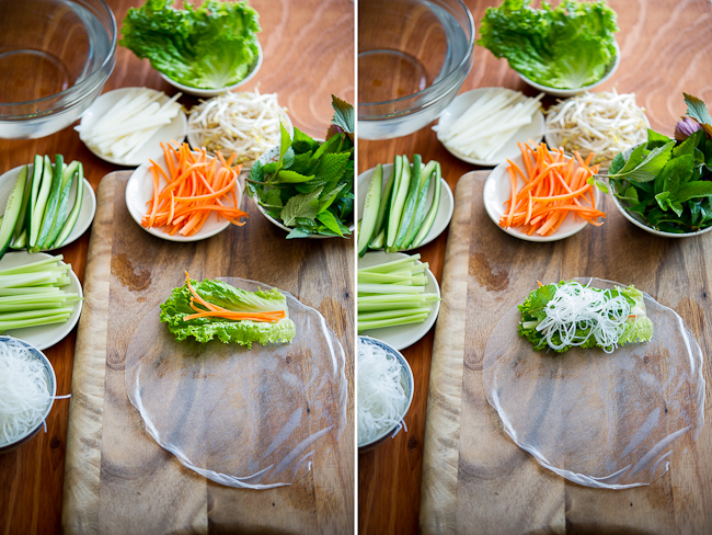 how to make vietnamese spring rolls