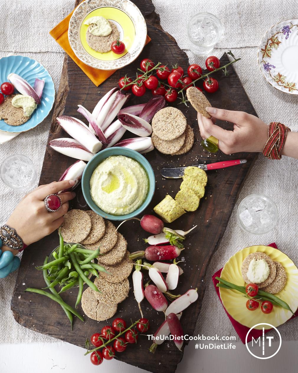 Creamy Zucchini Hummus
