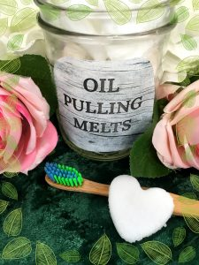 DIY Oil Pulling Melts
