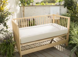 Ultra Breathable 2 Stage Organic Crib Mattress By
