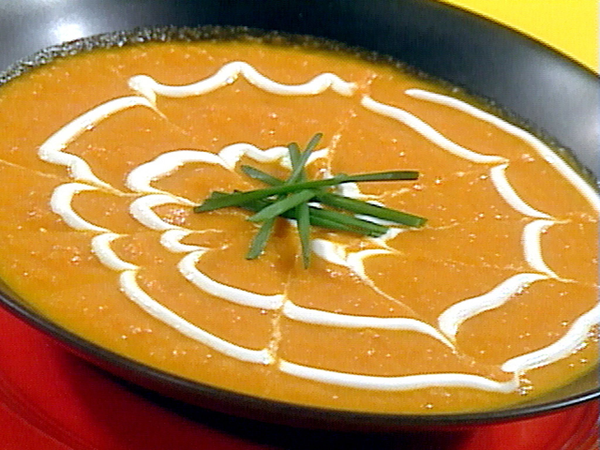 Creamy Carrot And Parsnip Soup