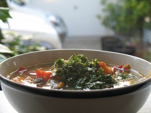 Rainbow Chard Coconut Soup