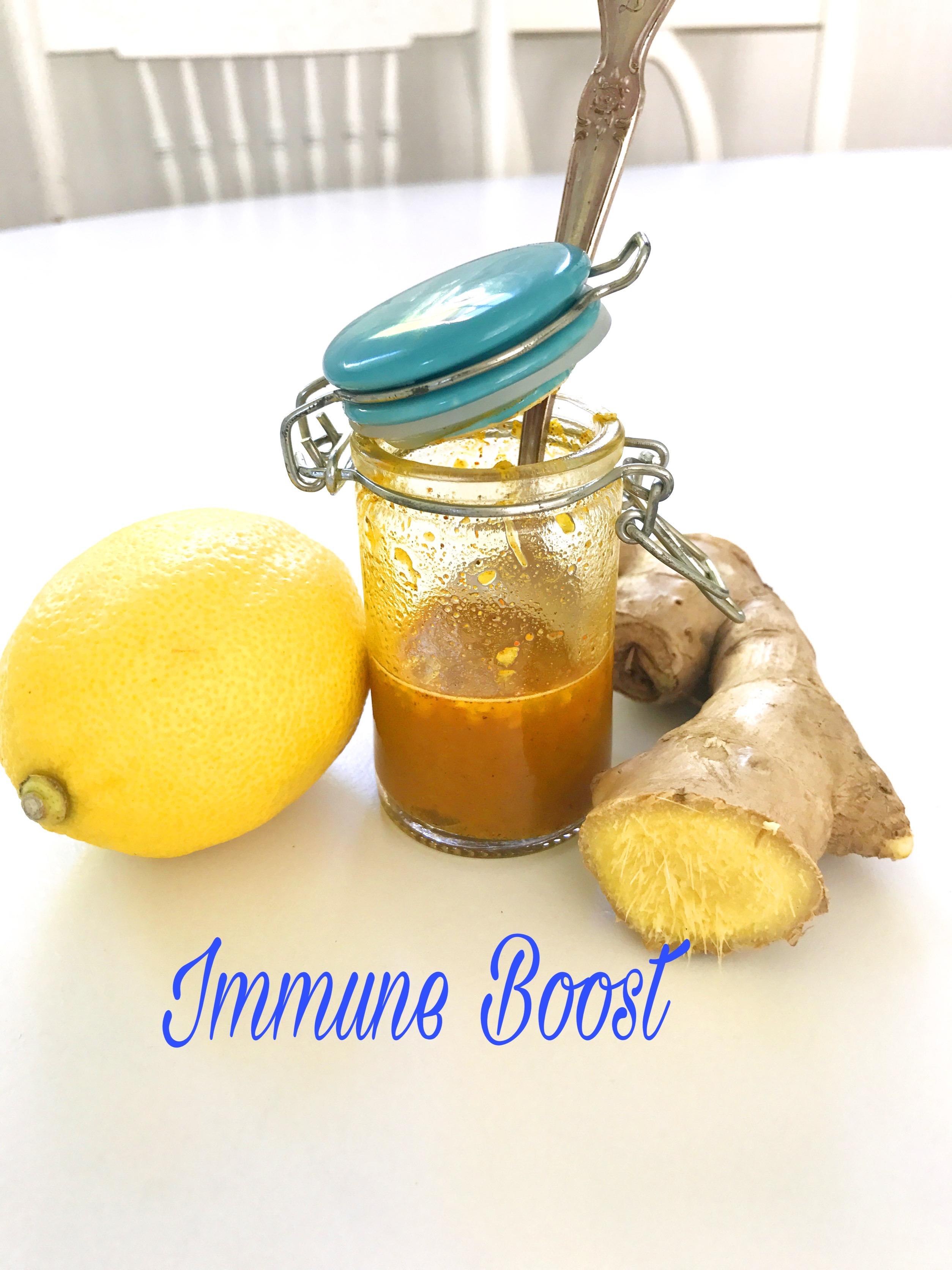 DIY Immune Boosting Tonic