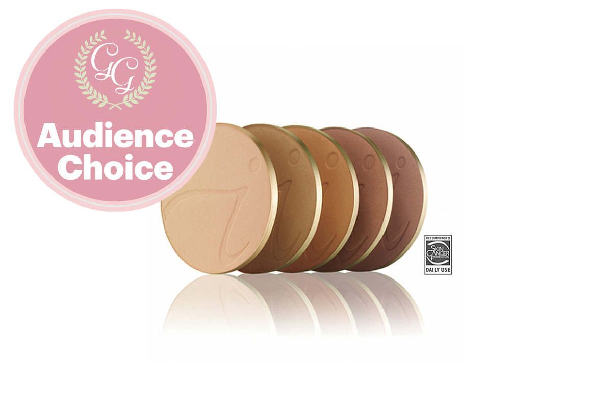 Best Foundation: PurePressed Base Mineral Foundation by Jane Iredale