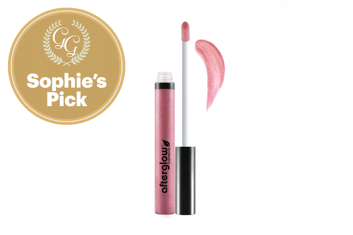 Best Lipgloss: Organic Infused Hydra Gloss by Afterglow Cosmetics
