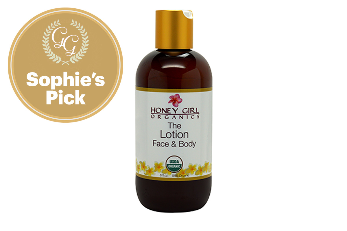 Best Body Lotion / Body Oil: The Lotion by Honey Girl Organics