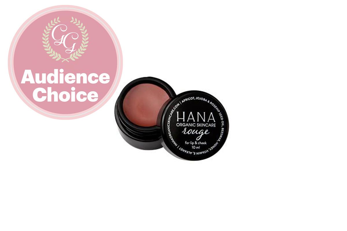 Best Lip Balm / Butter / Chapstick: Rouge Lip + Cheek Tint by Hana Organic Skincare