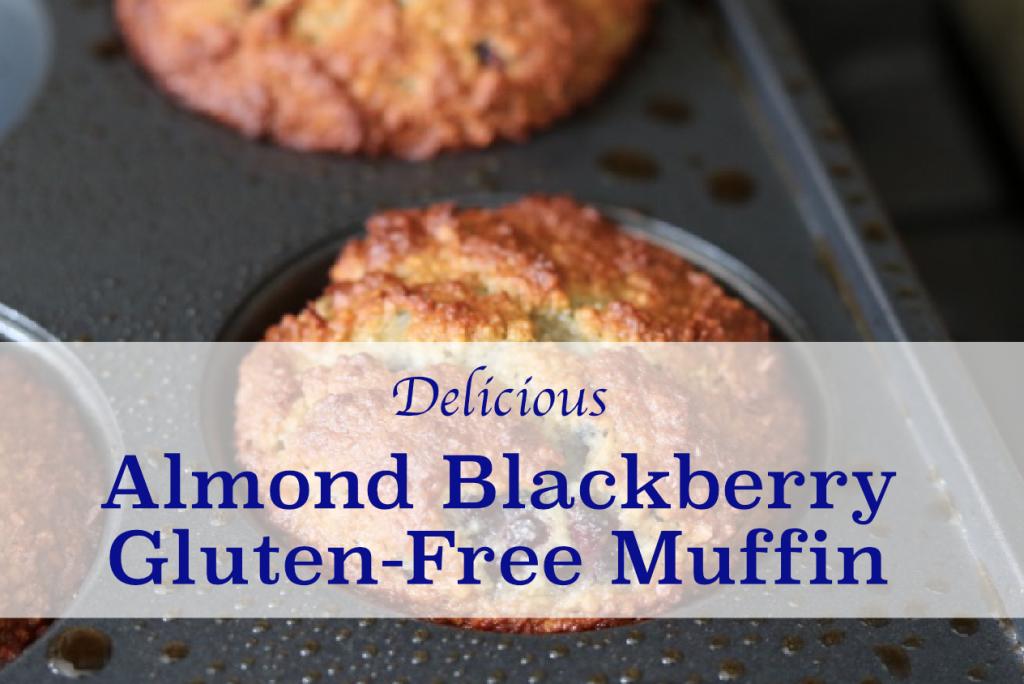 Almond Blackberry Gluten-Free Muffin