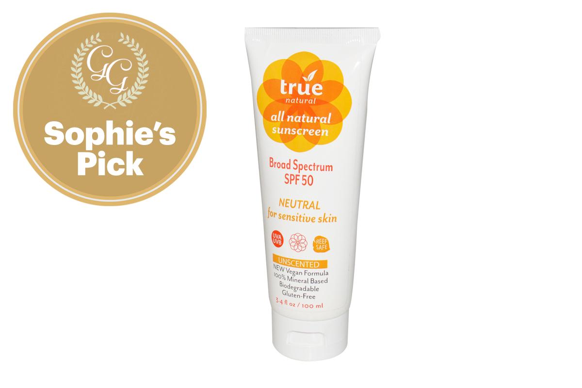 Best Sunscreen for Body: SPF 50 Sunscreen by True Naturals