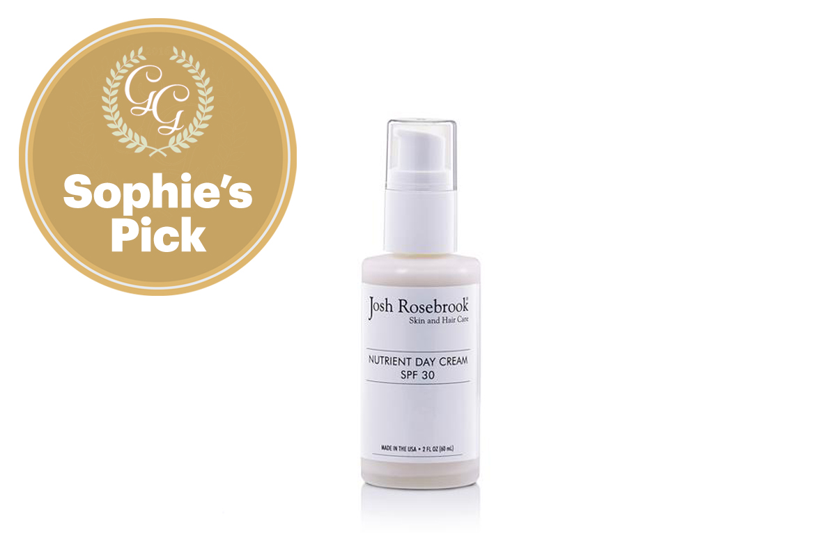 Best Sunscreen for Face: Nutrient Day Cream SPF 30 by Josh Rosebrook