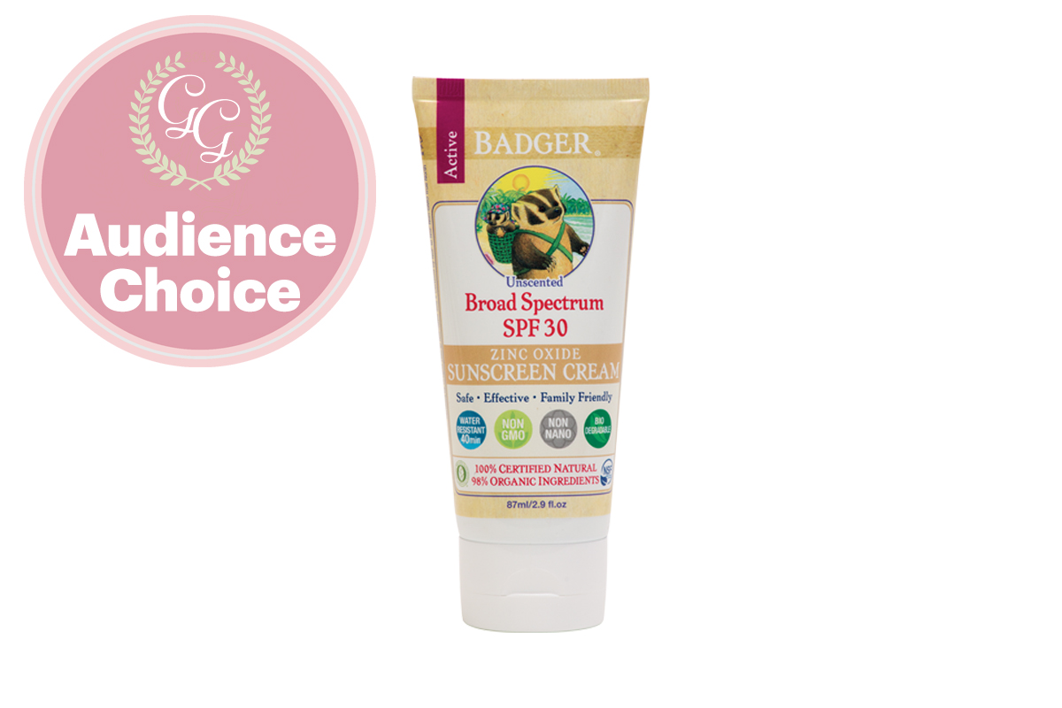 Best Sunscreen for Body: Organic Unscented Sunscreen with Zinc Oxide by Badger