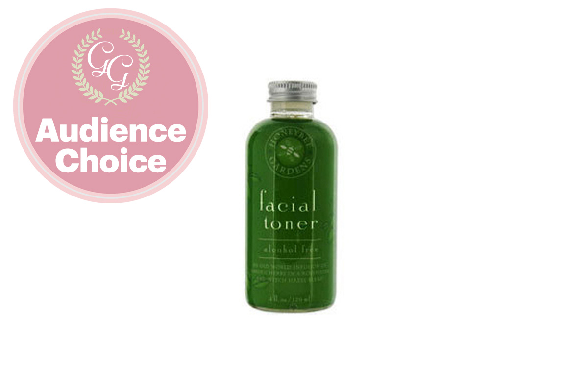 Best Toner: Alcohol Free Facial Toner by Honeybee Gardens