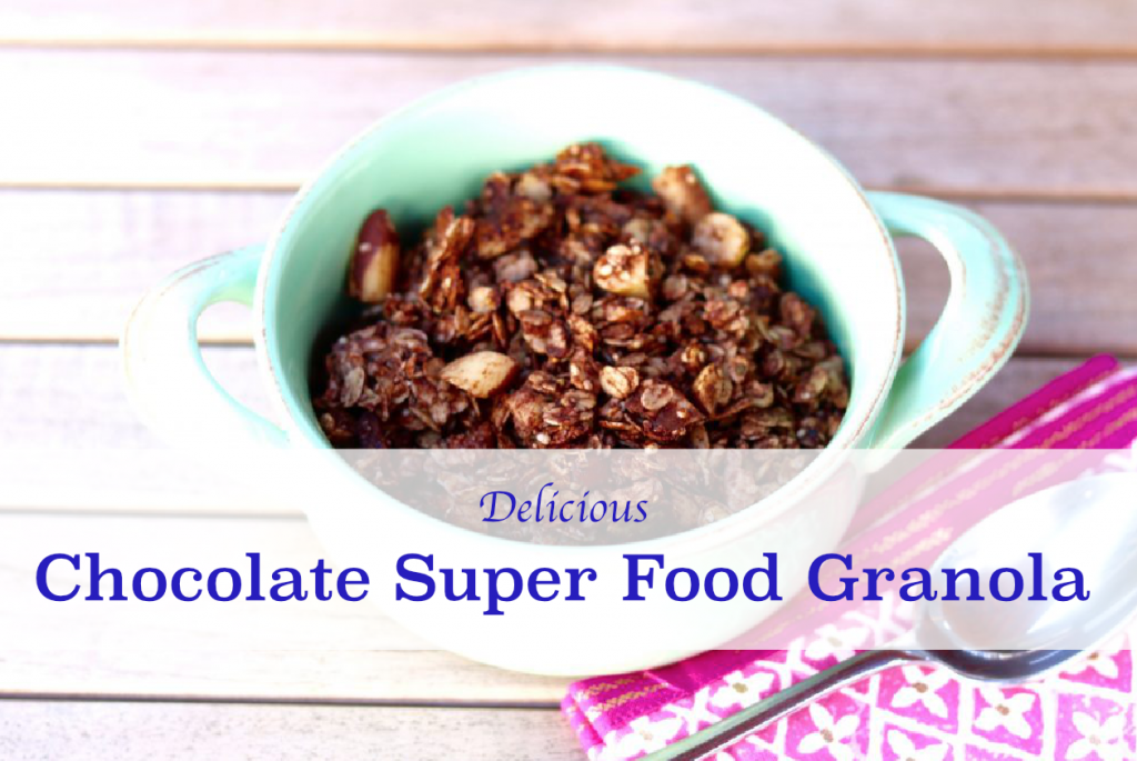 Chocolate Super Food Granola