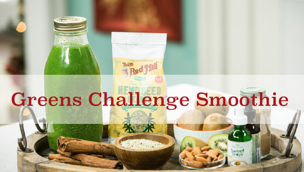 Greens Challenge Smoothie