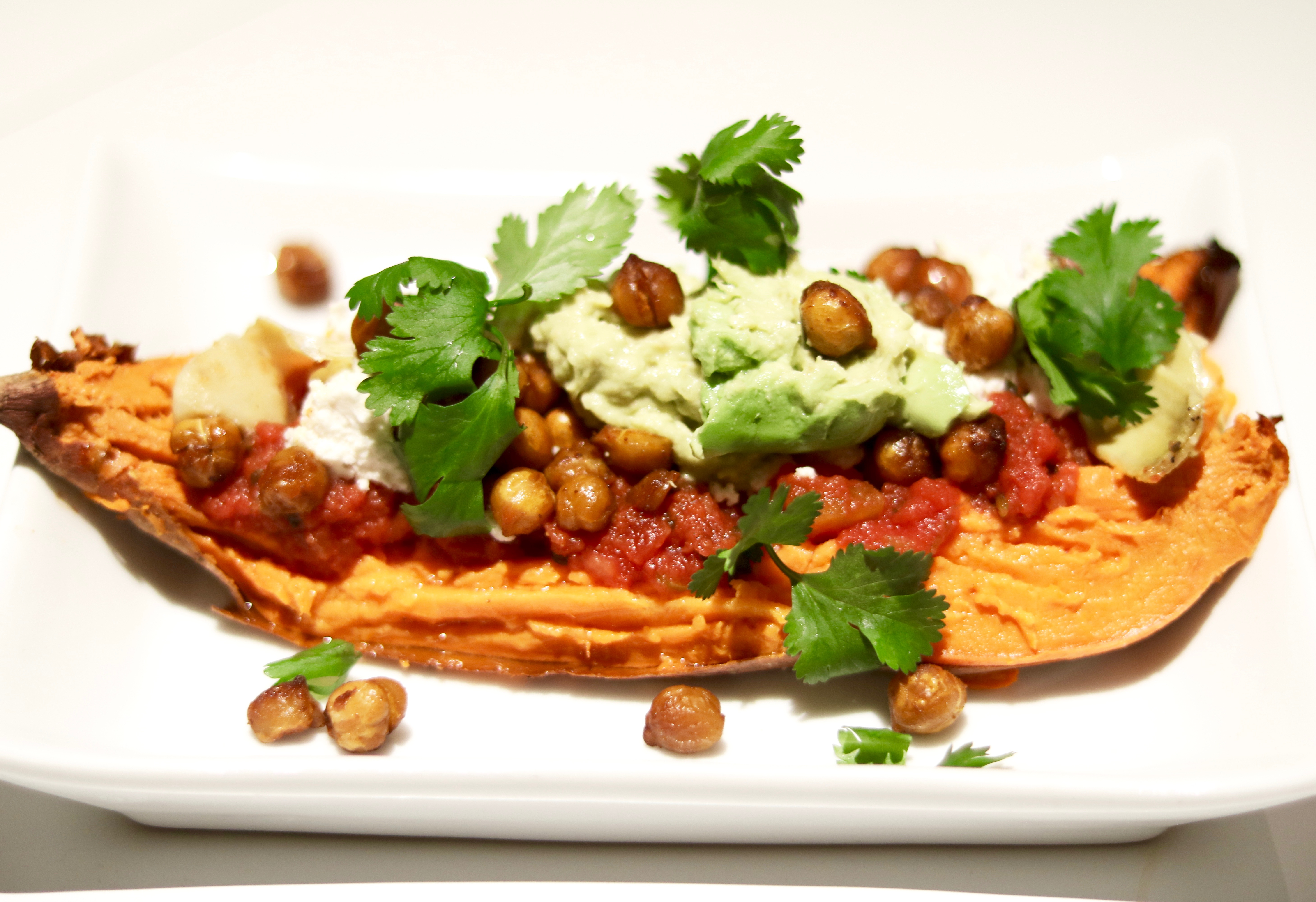 Tex Mex Baked Sweet Potato