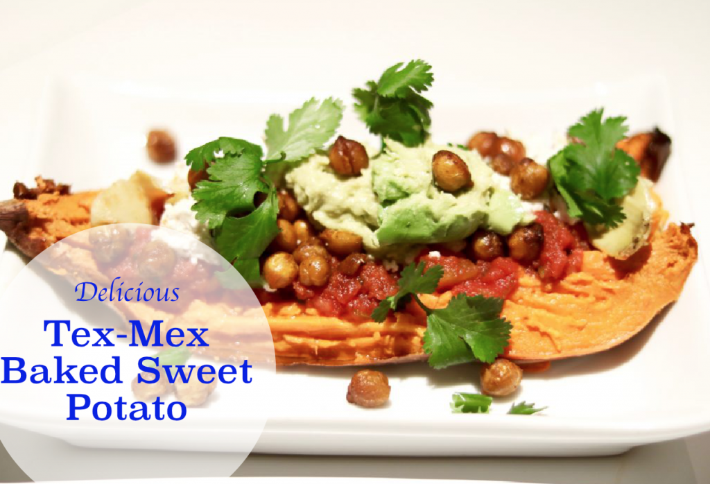 Tex-Mex Baked Sweet Potato