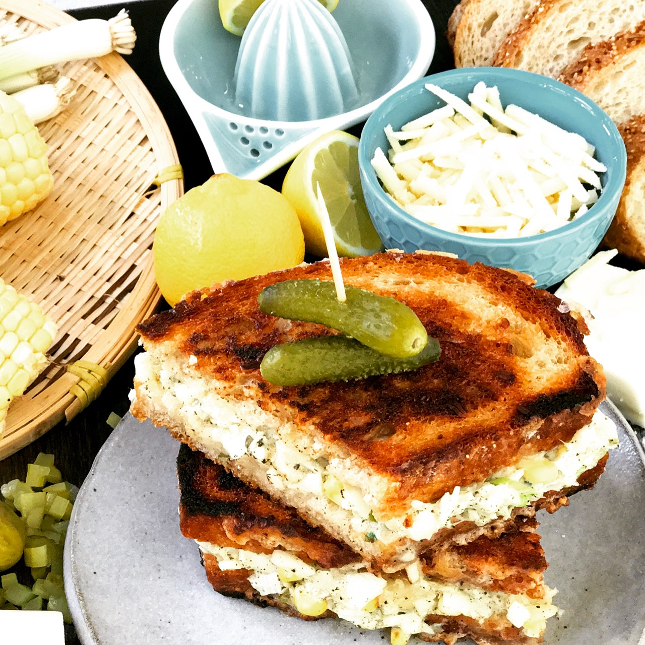 vegan tuna melt