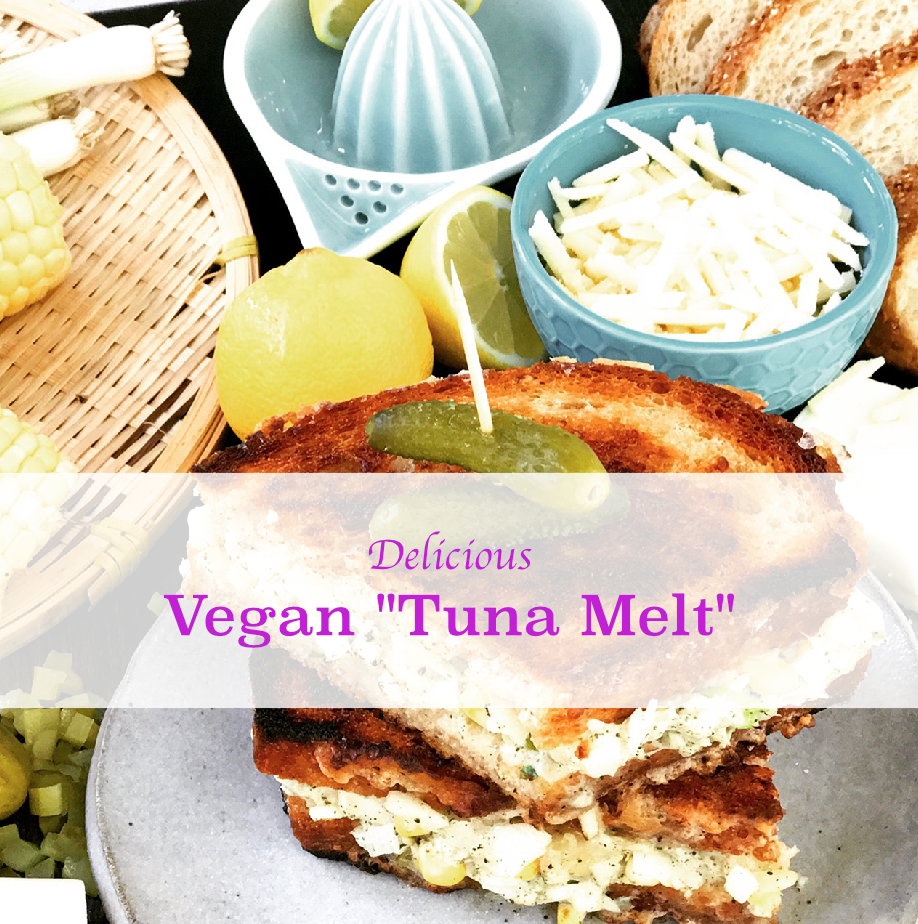 "Vegan ""Tuna Melt"""