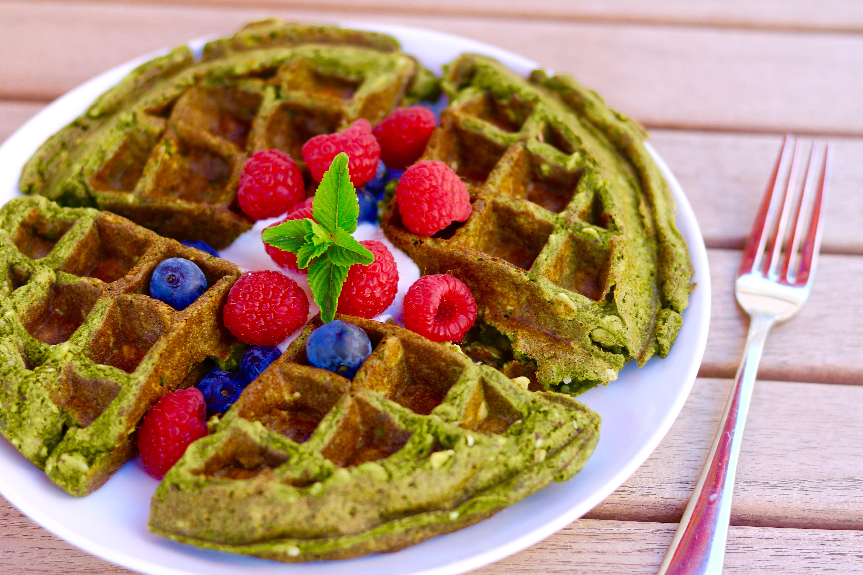 Matcha Moringa Waffle