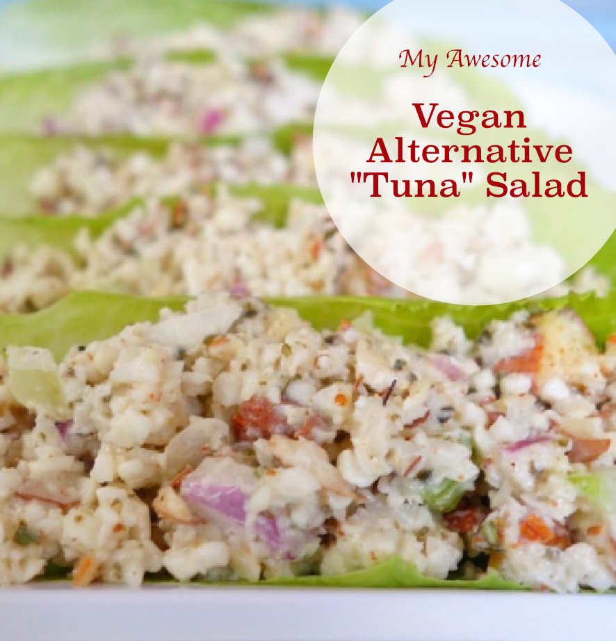 "Vegan Alternative ""Tuna"" Salad"