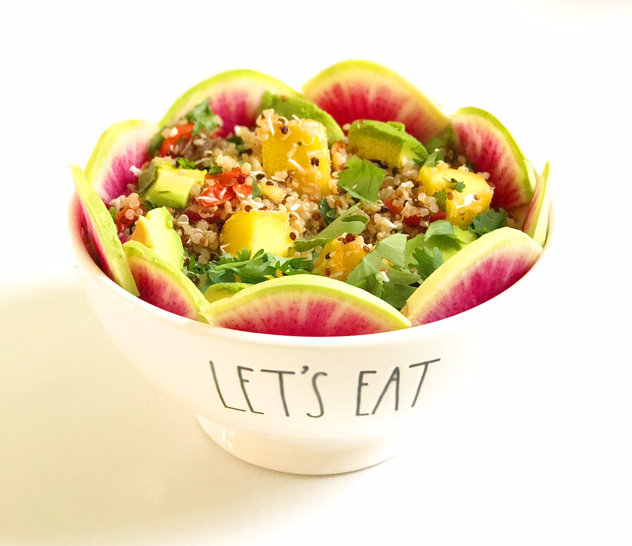 Fruity Summer Quinoa Salad