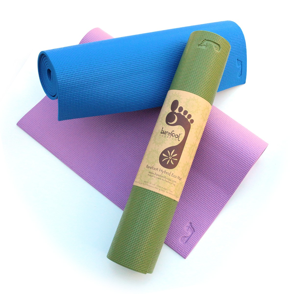 Hybrid Eco Mats by Barefoot Yoga
