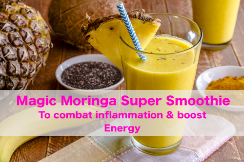 Magic Moringa Super Smoothie