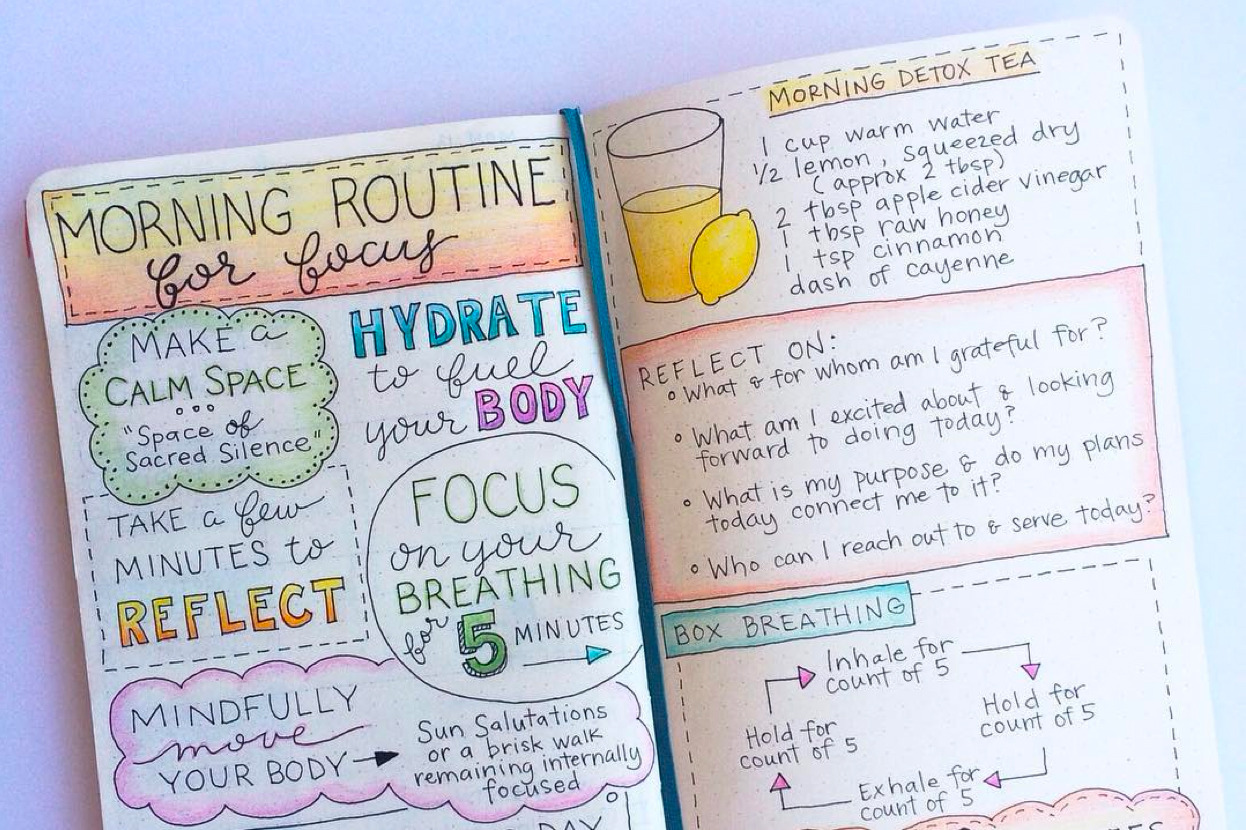 your wellness bullet journal