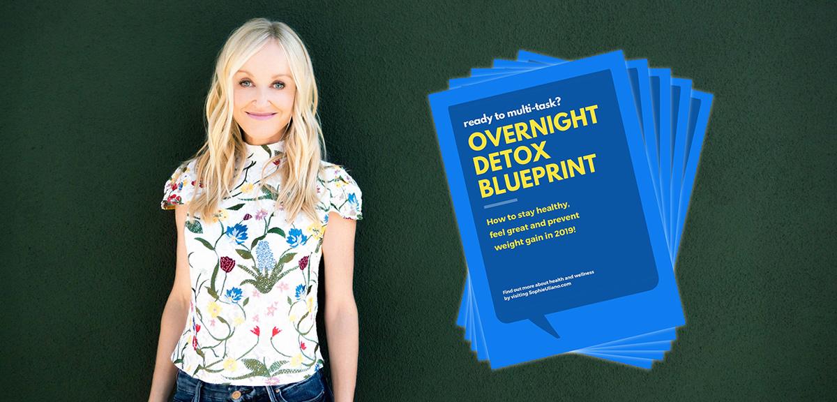 Sophie Uliano - Overnight Detox Blueprint