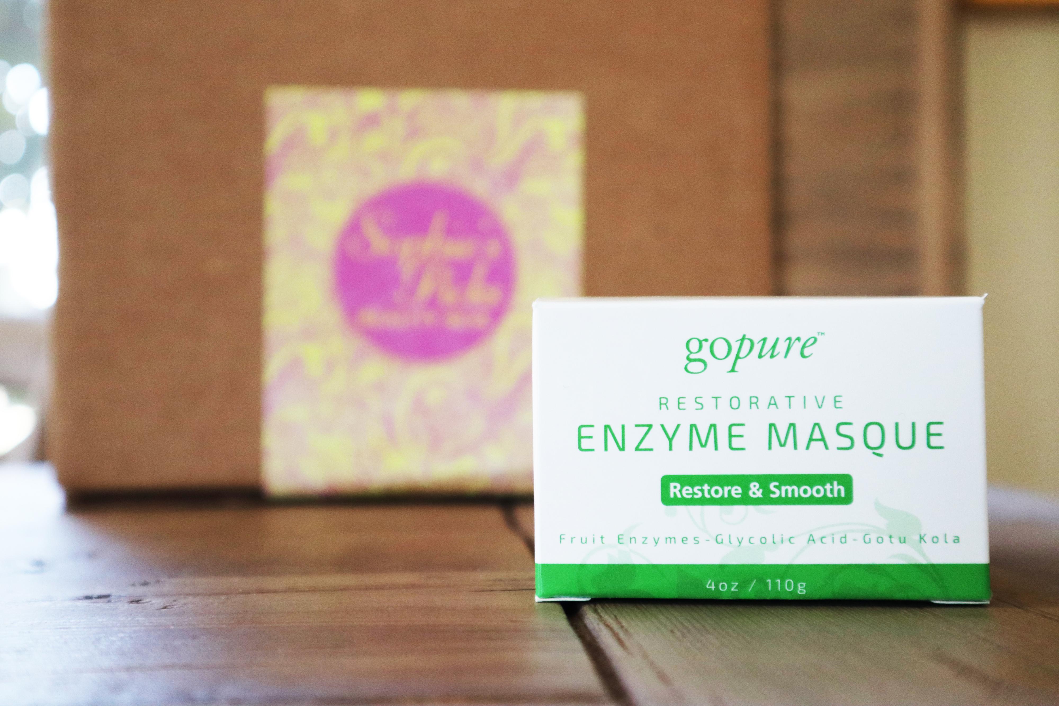 goPure Restorative Enzyme Mask