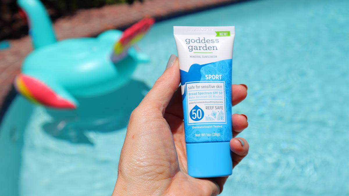 SPF 50 Sunscreen by Goddess Garden