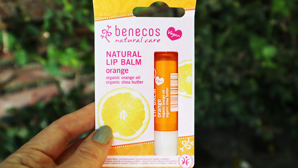 Benecos Natural Lip Balm Orange