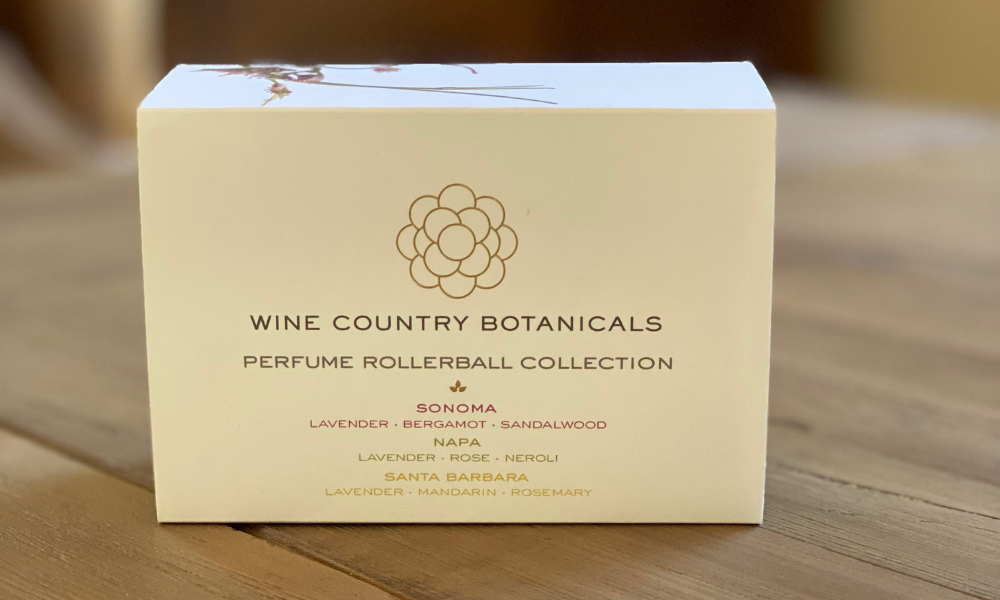 Wine Country Botanicals Perfume Rollerball Collection