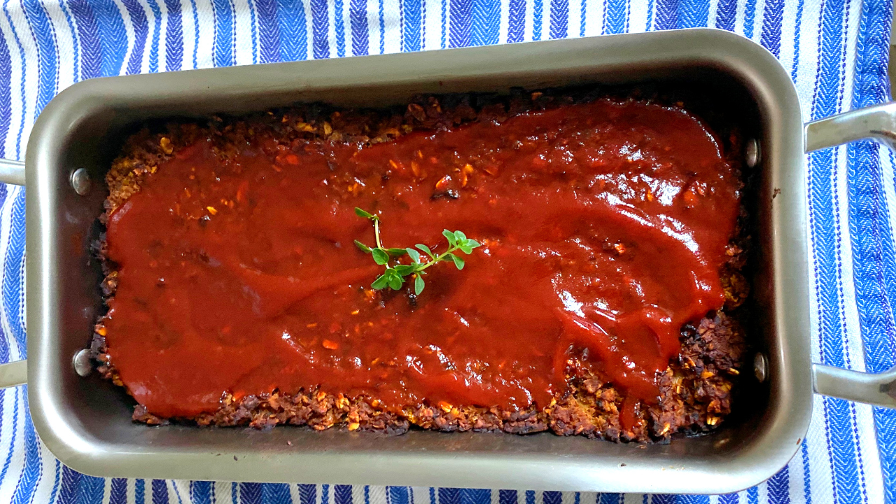 "Plant-Based ""Meat"" Loaf"