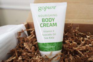 goPure Nourishing Body Cream