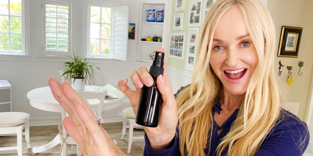 DIY Homemade Hand Sanitizer Spray