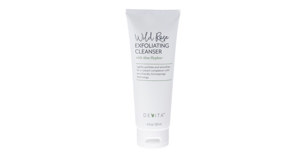 Devita Wild Rose Exfoliating Cleanser