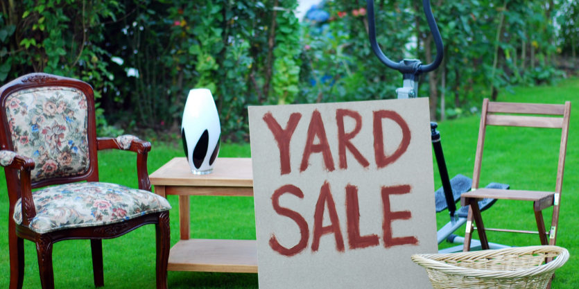 5 Yard Sale Items To Look For